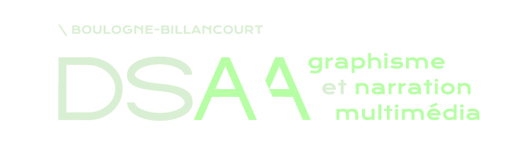 DSAA design graphique et narration multimedia